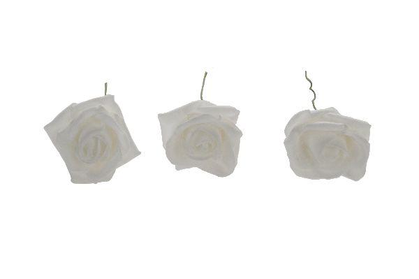 Rose Foam WEISS 6cm 10226