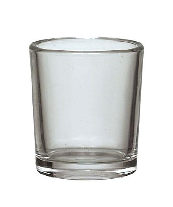 Votivkerzenglas / Teelichtglas KLAR 17830 Ø5,5cm Höhe=6,5cm