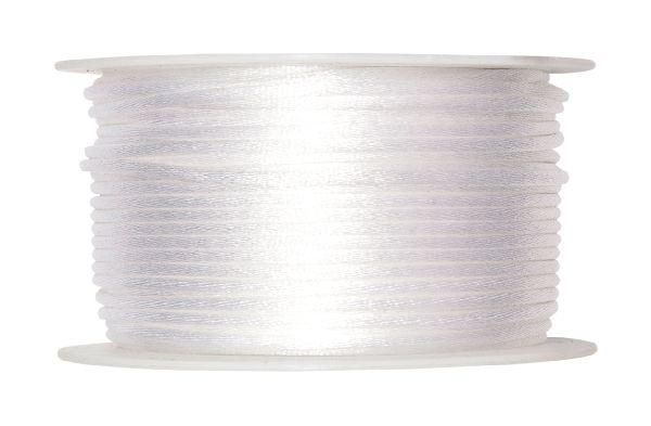 Satinkordel 95000 WEISS 11 2mm 50m