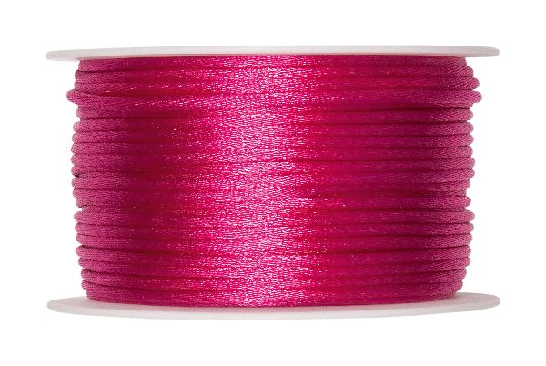 Satinkordel 95000 PINK 60 2mm 50m