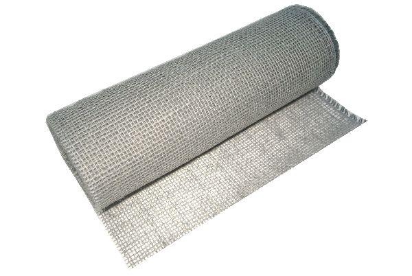 Jute Tischband 2200 GRAU 127 B:30cm L:10m