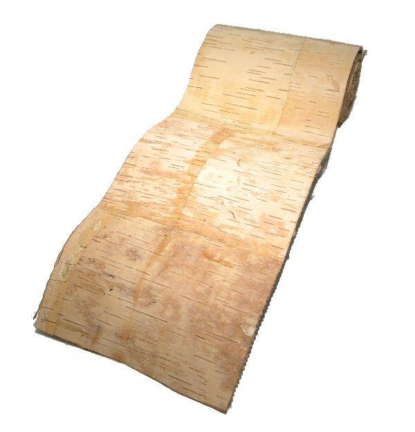 Birkenband NATUR 4253 15cm  Rolle=2 Meter