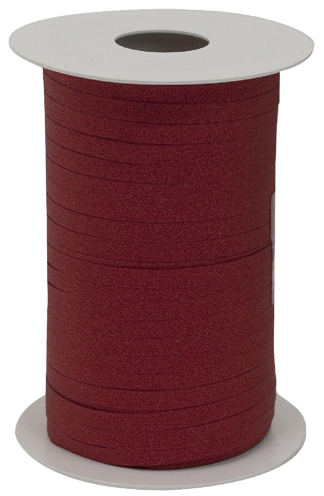 Kräuselband Glamour ROT 8146 20 Breite 5mm  Rolle=150Meter