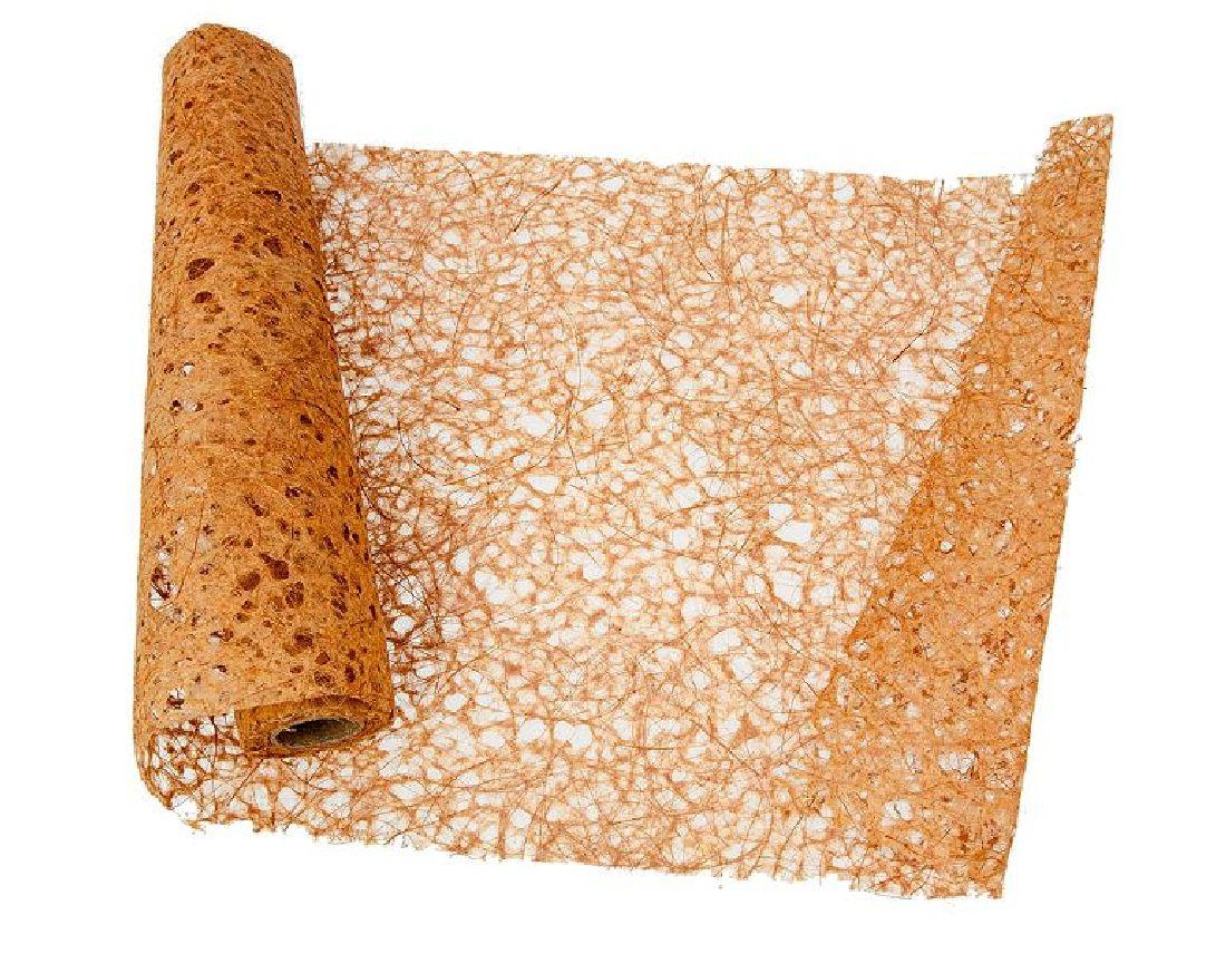 Papiervlies - Tischläufer NATUR-BRAUN 10249 Breite:35cm Länge:450cm
