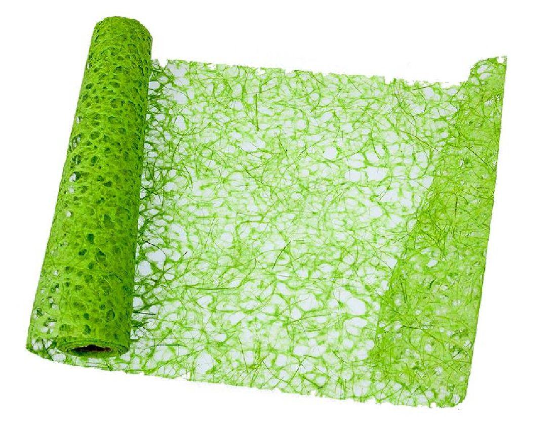 Papiervlies - Tischläufer GRÜN 10249 Breite:35cm Länge:450cm