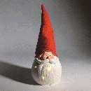 Nikolaus/Santa mit LED ROT-WEISS 70317 exkl.Batterie 22,5x23x59cm 3xAAA Batteriefac