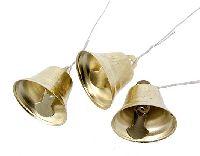 Glöckchen GOLD 80522 2,5-3cm Metall