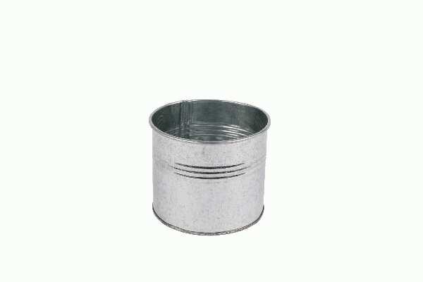 Metalltopf / Metalldose ZINK 02ZIS05 Ø11x9cm