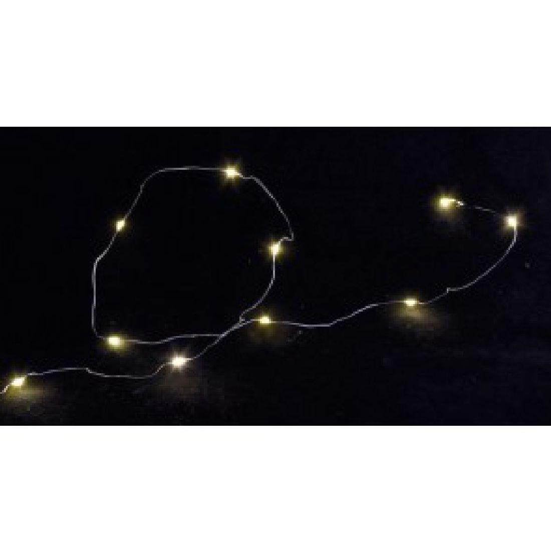 LED Lichterkette 55-0881  Drahtlichterkette 20 LED 200cm