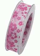Band Sommerhit PINK X912 241 B:25mm L:20m formstabile Kante