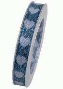 Herzband Allerliebst INDIGO X939 353 B:15mm L:20m formstabile Kante