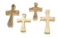 Birkenkreuz Holzkreuze NATUR 13950 8x5,5cm + 6,5x4,5cm 2Größen