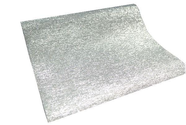 Tischband Luxor SILBER 25cm x 5 Meter 12079