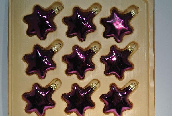 Kugel DAHLIA GLANZ 3013 Stern 5 cm