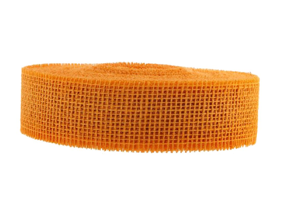 Jute Band hart D.GELB melone 236 5cm 40m