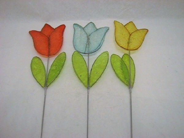 Tulpe a.St. FARBL. SORT. 49,5cm