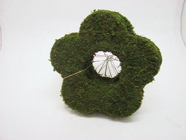 Strausshalter Blume GRUEN 25cm