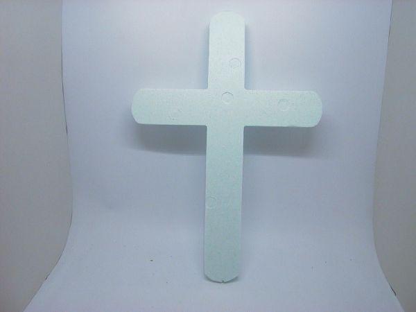Styropor Kreuz Styropor 70/50cm
