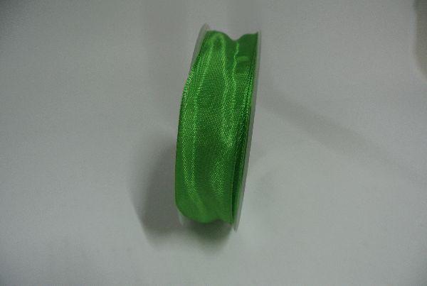 Drahtkantenband APFELGRUEN 8 25mm