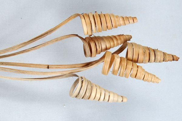 Cane-Cone Spitzspirale NATUR 100 Stück Kegel