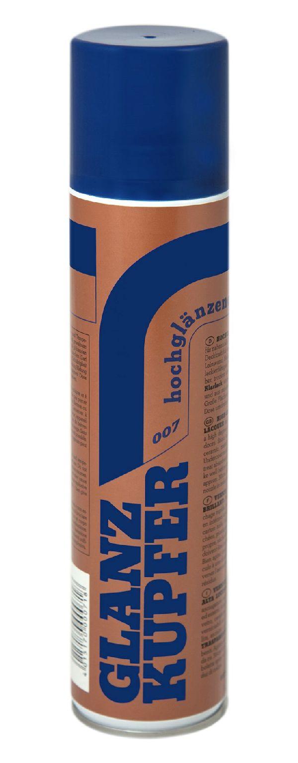Sprühlacke GLANZ-KUPFER 007 400 ml