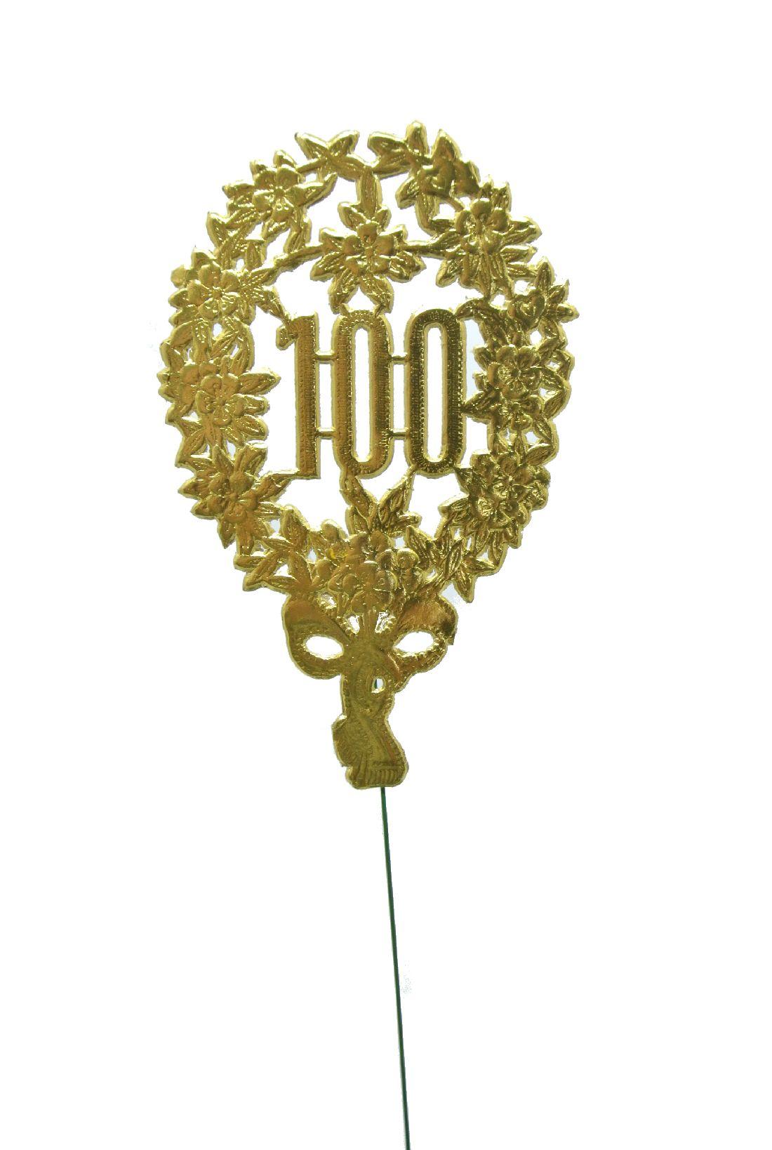 Jubiläumszahlen GOLD 100er