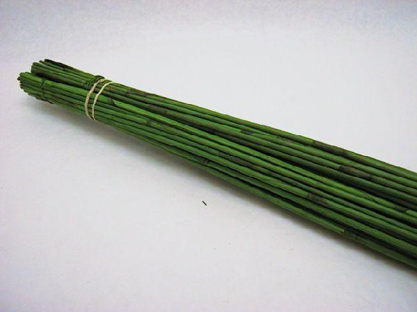 Reed Stäbe 90 cm APFELGRUEN 90cm 60St.
