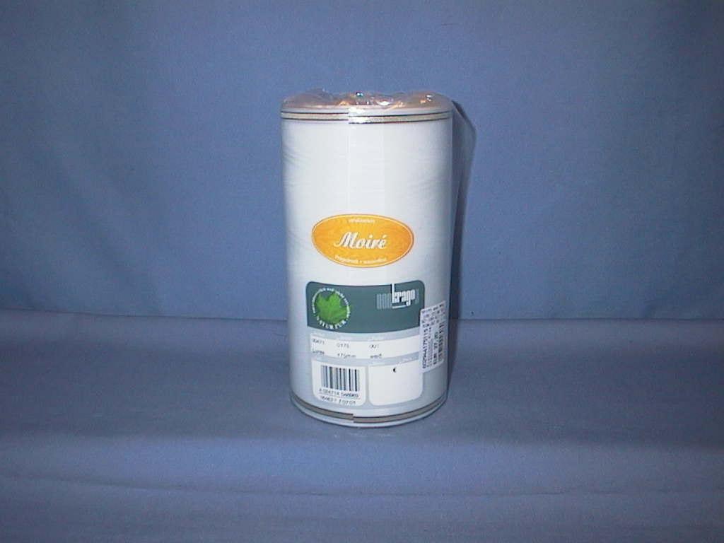 Kranzband Krago PERL.WEISS 001 175mm *** Goldkante