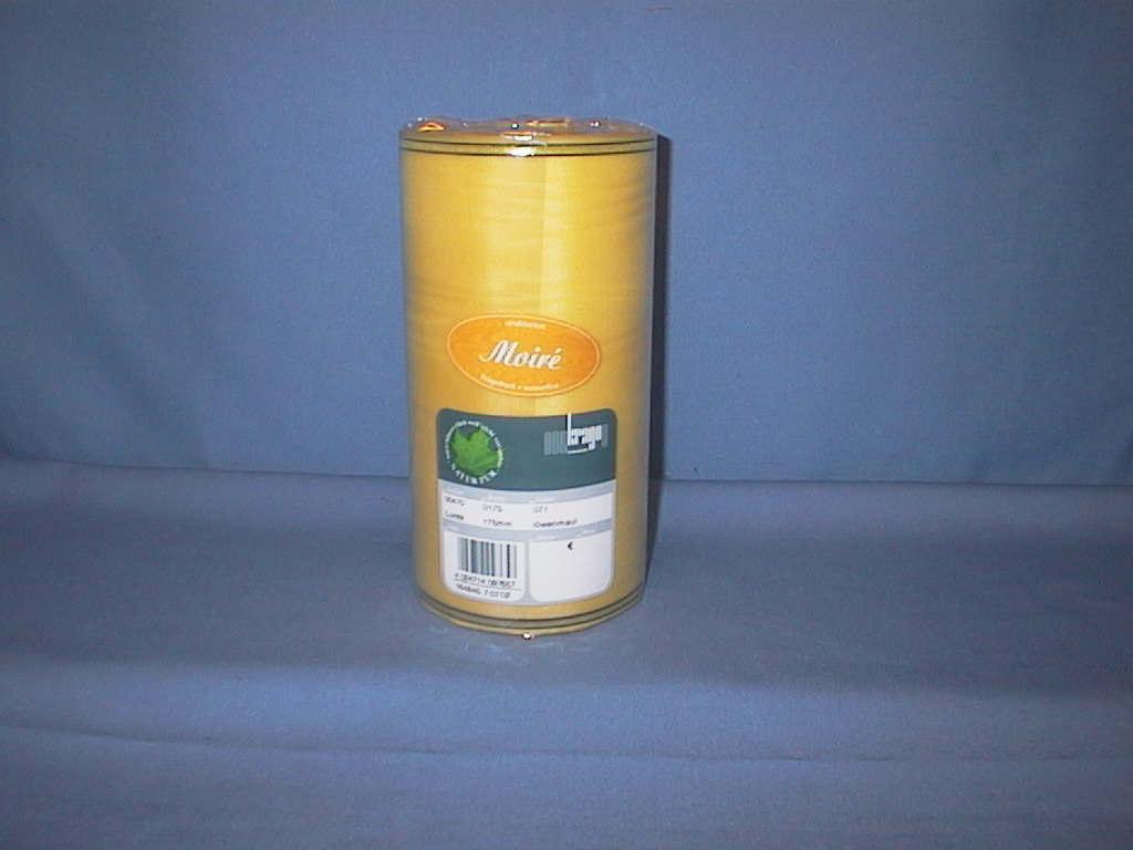 Kranzband Krago GELB 71 175mm 25m Goldkante