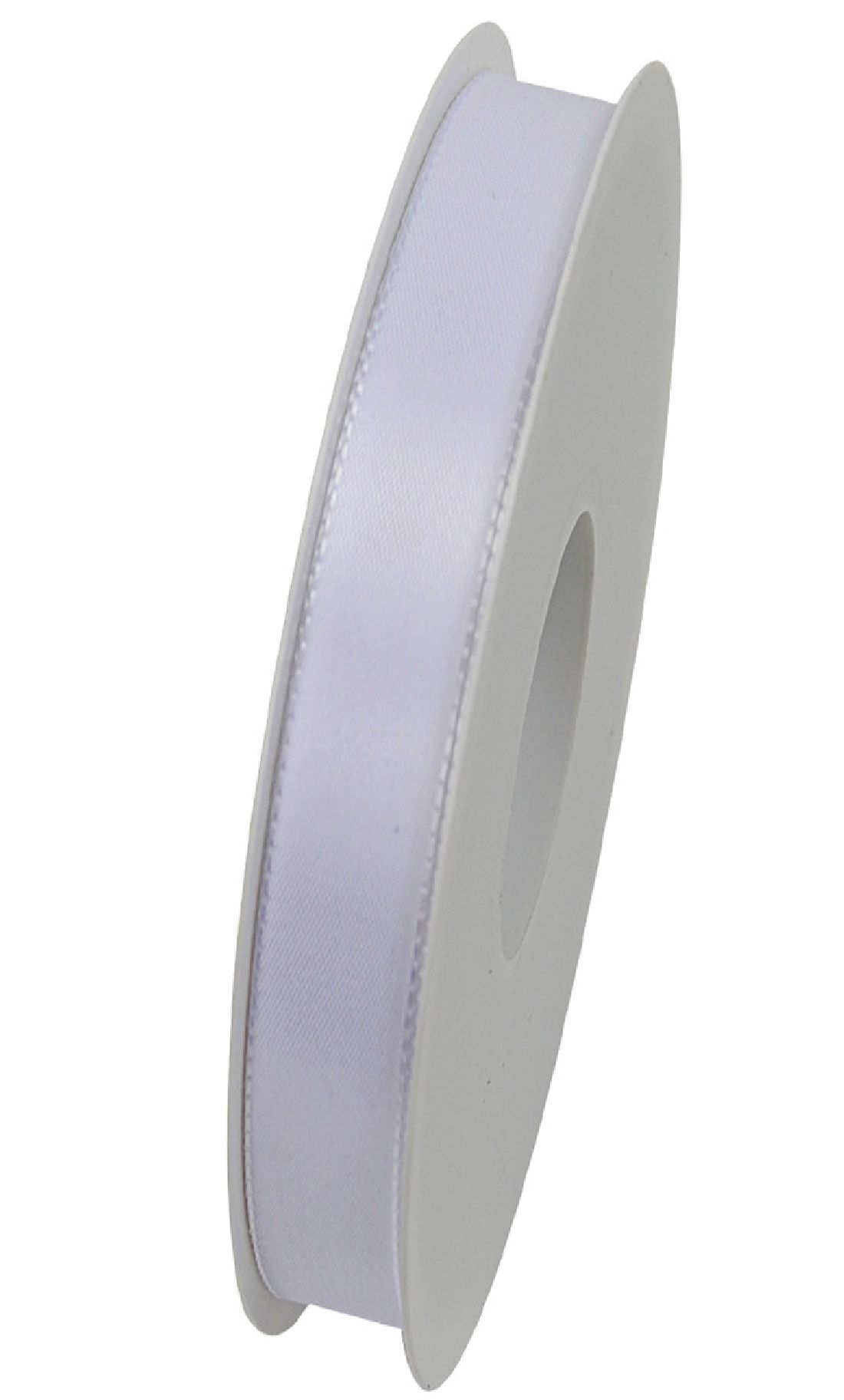 Basic ohne Draht / Taftband WEISS 01 15mm 50m