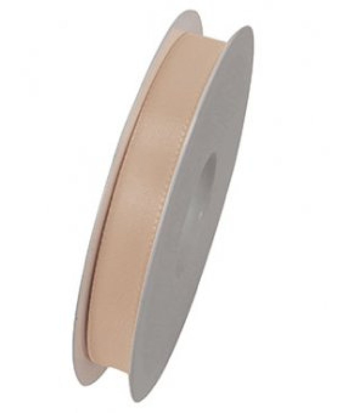 Basic ohne Draht / Taftband CREME 021 15mm 50m