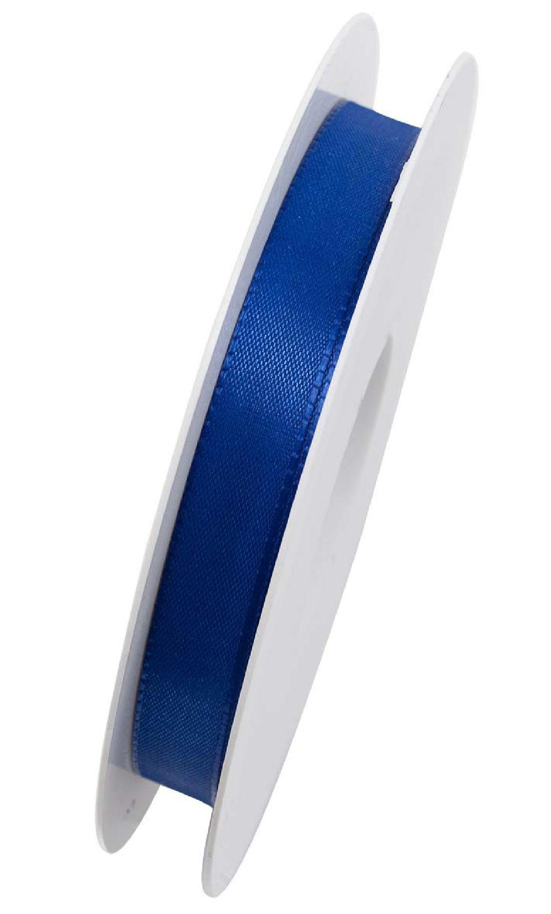 Basic ohne Draht / Taftband BLAU 35 15mm 50m