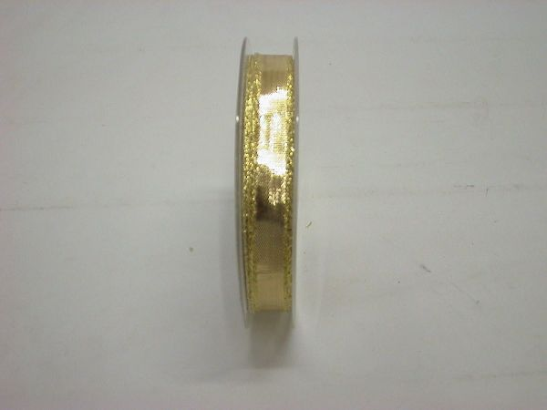 Glanzband GOLD 15mm 25m