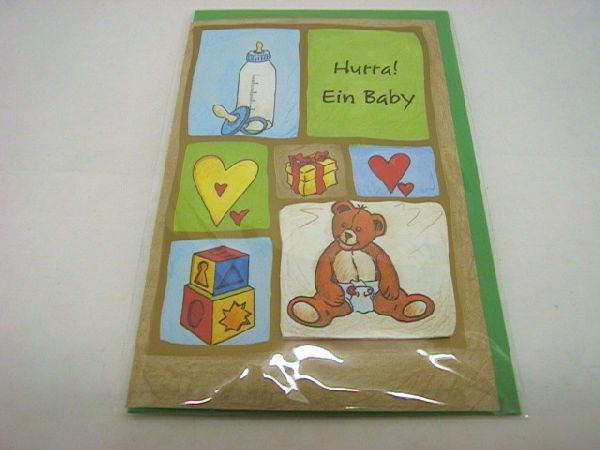 Paper Greetings 50706 Hurra, ein Baby