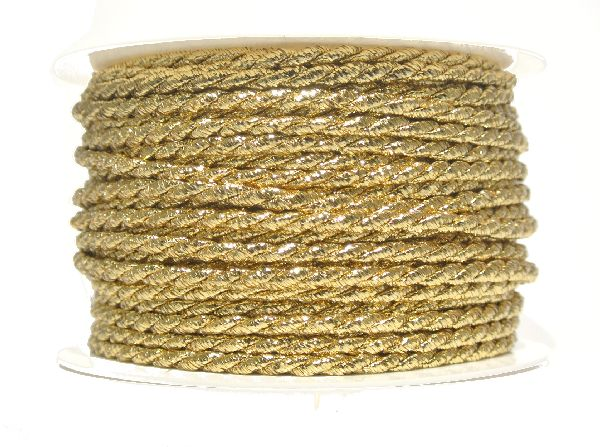 Kordel GOLD 4mm 25m