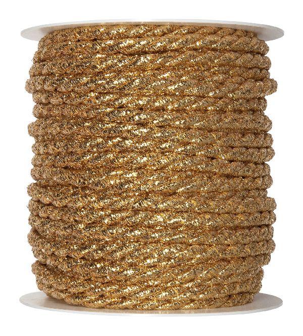 Kordel GOLD 6mm 25m