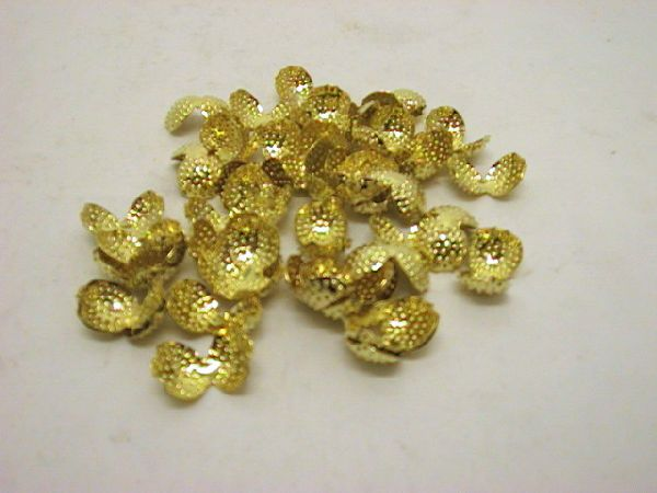 Clipse für Bänder GOLD 13mm