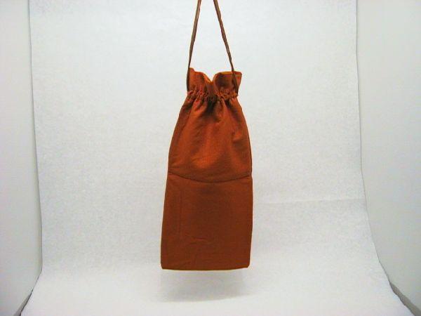 Filz-Tasche ORANGE 18x38cm