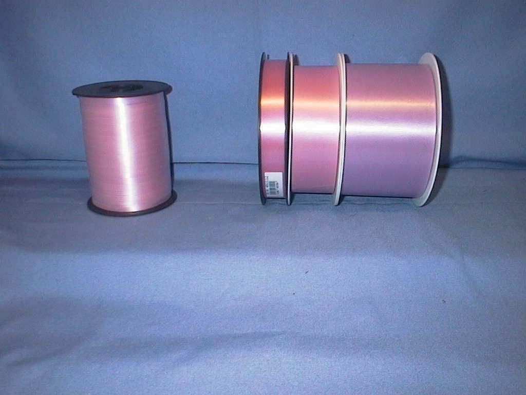 Kräuselband, Ziehband ROSA 12 75mm 91m