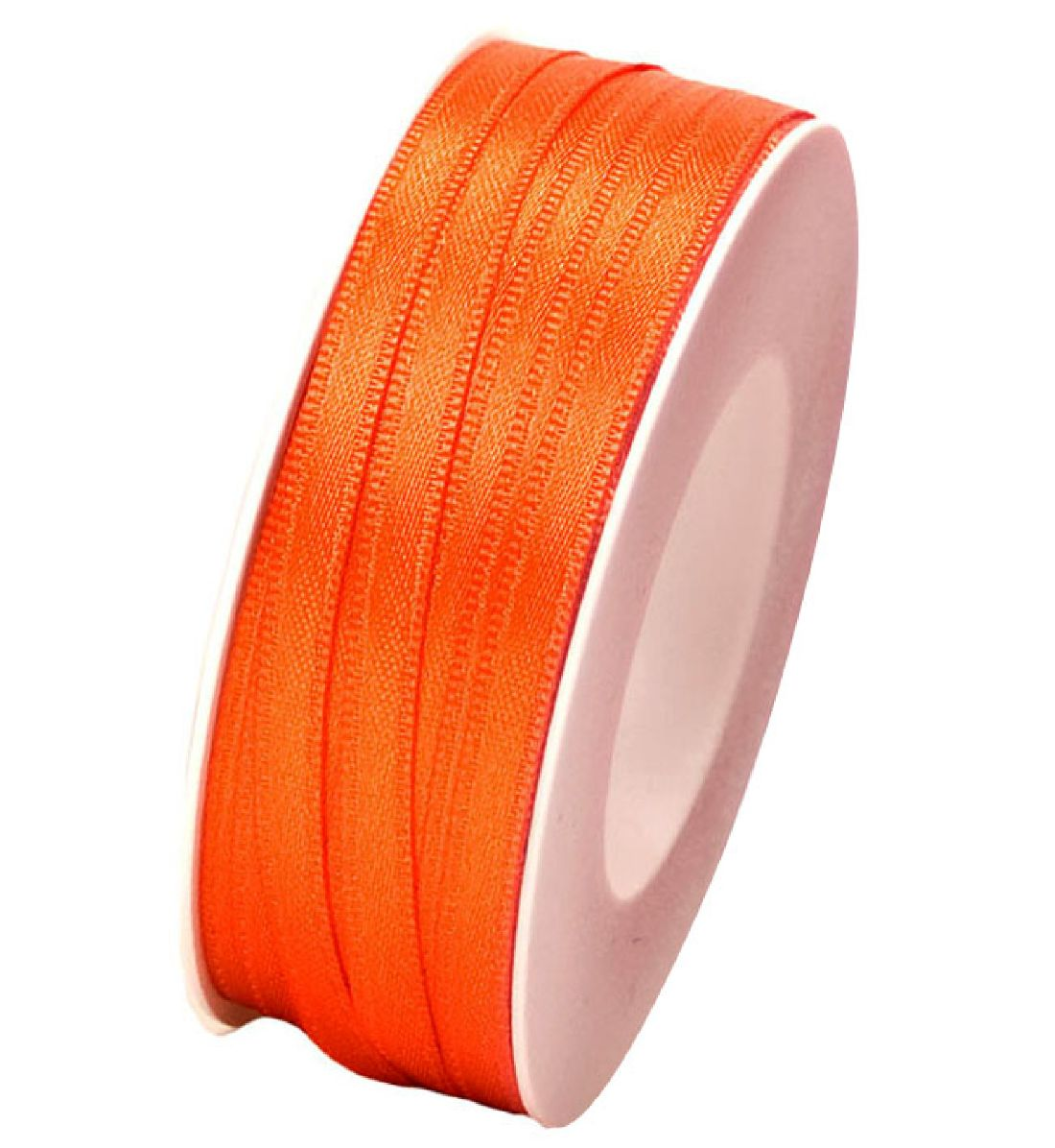 Doppelsatin ORANGE 40 6mm 50m