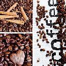 Servietten 33cm Design KAFFEE-BRAUN Coffee