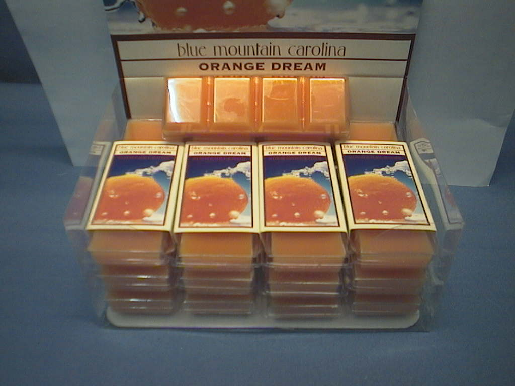 Simmerblends Blue Mountain ORANGE Displaybox
