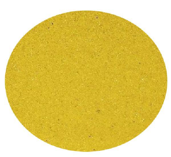 Farbsand 0,1- 0,5 mm GELB 130 2 kg.