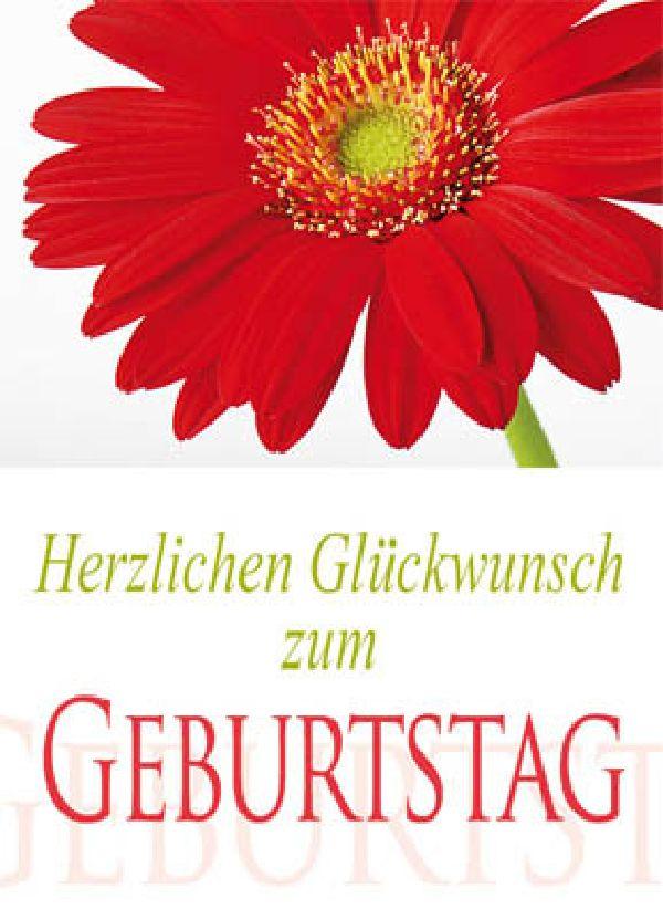 Minikarten Herzlichen Glückwunsch zum Geb Delicato mit Holzklammer K8506
