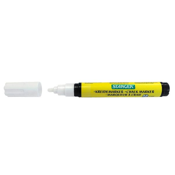 Deco-Marker m.Flüssigkreide WEISS 100500 1-3mm