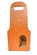 Flaschenverpackung Bag.New TERRA 18x9x41 2Flaschen