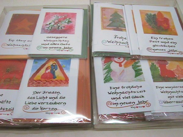 Maxikarten Weihnachten Sortiment 8 Motive