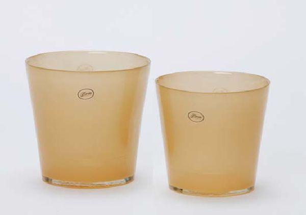 Glastopf Mira Orchideentopf Whiskey 2065/14cm  innen beschichtet