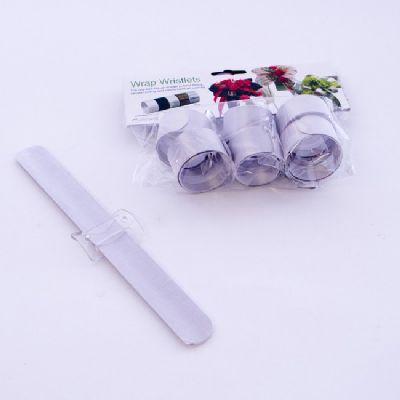 Oasis® flexibles Klettarmband WEISS 42-62203 23 x 2,5 cm Brautschmuck