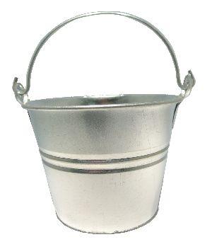Zinkeimer mit Bügel ZINK 13 / 1 Liter Ø14 cm x H11 cm
